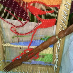 creative hand woven and tapestry